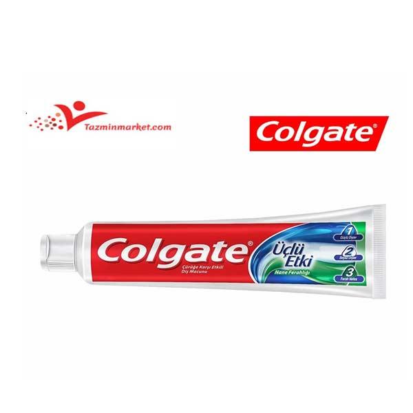 خرید اینترنتی خمیر دندان 100 میلی کلگیت 3 کاره 123