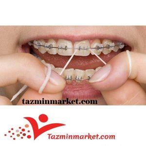 خرید اینترنتی نخ دندان ارتودنسی اورال بی