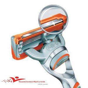قیمت و خرید تیغ یدک ژیلت مدل فیوژن پاور 4 عددی 5 لبه gillette blades