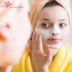 ماسک برای چربی پوست