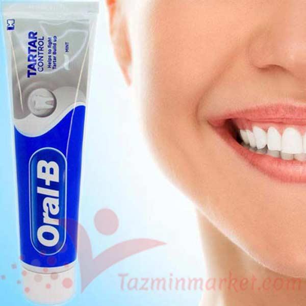 خرید و قیمت خمیر دندان اورال بی ضد رسوب تارتار 100 میل toothpaste oaral b