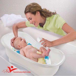 روش صحیح حمام کردن نوزاد