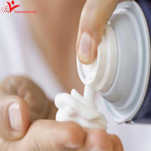 تفاوت فوم اصلاح و ژل اصلاح Shaving foam