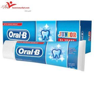 قیمت و خرید خمیر دندان اورال بی مناسب نوجوانان و کودکان بالای 6 سال